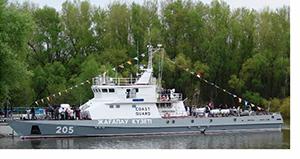 Новый военный корабль «Сарбаз»